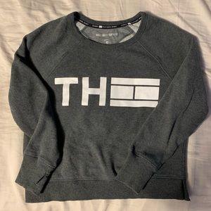 Tommy Hilfiger Grey Crew Neck Logo Sweater